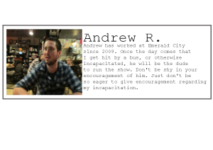 Employee profile-Andrew