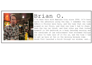 Employee profile-Brian