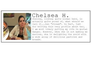 Employee profile-Chelsea