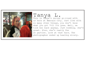 Employee profile-Tanya